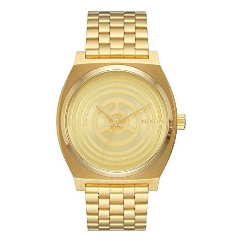 Nixon Herren Analog Quarz Uhr mit Edelstahl Armband A045SW2378-00