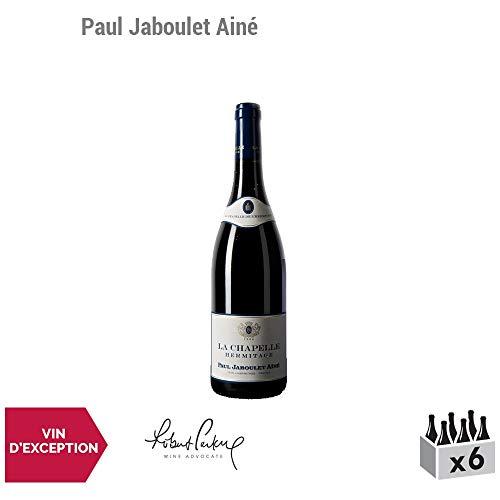 Hermitage La Chapelle Rouge 2013 - Paul Jaboulet Ainé - Vin AOC Rouge de la Vallée du Rhône - Cépage Syrah - Lot de 6x75cl - 95/100 J.M. Quarin