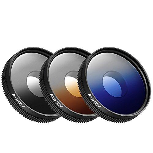 AUKEY PF-S1 Kit de 3 Accessoires pour iPhone 6/6 plus/6s/6s Plus/iPad/Samsung/Nokia/Tablette/etc. Noir