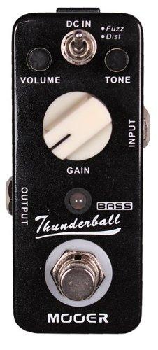 Mooer MOD3 Thunder Drive Bass Fuzz/Distortion Effects Pedal