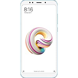 "Xiaomi Redmi 5 Plus - Smartphone de 5.99"" Full HD (14 NM Snapdragon Octa-Core, 32 GB, Android) Color Azul [versión española]"