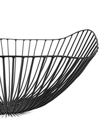 Obstschale-Obstkorb-Fruchtschale-Dekoschale-Cesira-von-Serax-aus-Metall-schwarz--39-cm