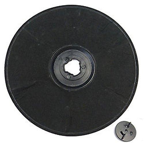 SPARES2GO Filtro di Carbone di Legna di EFF57 Tipo Carbonio per Cappa Zanussi / Estrattore Vent (230...