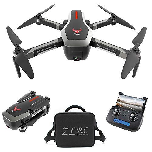 Goolsky SG906 GPS Brushless 4K Drone con Fotocamera Borsa 5G WiFi FPV Pieghevole Flusso Ottico di Posizionamento Altitude Hold RC Quadcopter