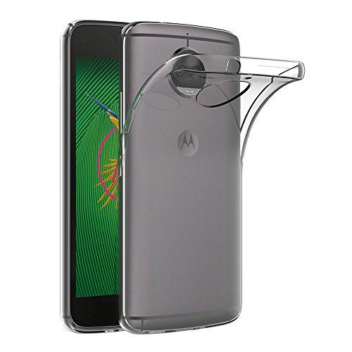 """AICEK Funda Moto G5S Plus, Transparente Silicona Fundas para Motorola Moto G5S Plus Carcasa Silicona Funda Case (5.5"""")"""
