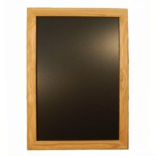 Lavagna, Cornice in legno chiaro 70x 50cm