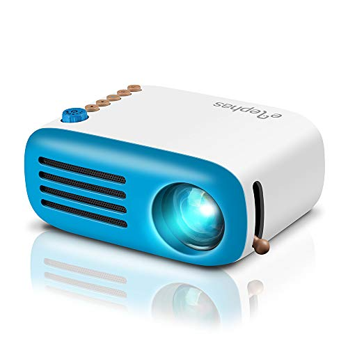 Elephans Mini Proiettore, Pico Proiettore LED, Videoproiettore Mini Con HDMI USB, Supporta...