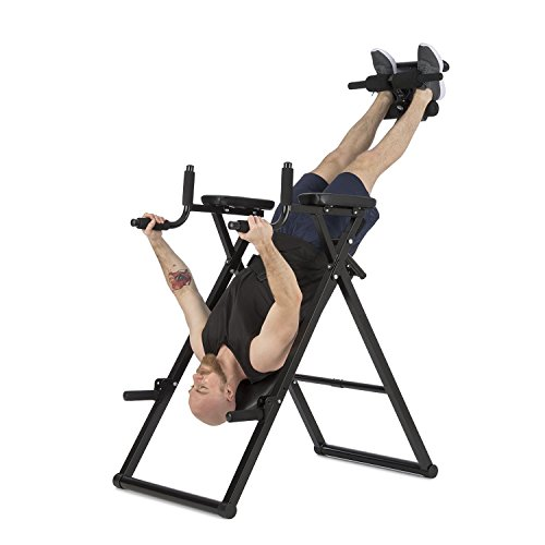 Klarfit Power Gym panca di inversione Hang-up trainer schienale panca per schienale 6-in-1...