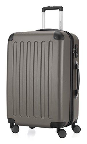 HAUPTSTADTKOFFER - Spree - 3er Koffer-Set Trolley-Set Rollkoffer Reisekoffer Erweiterbar, TSA, 4 Rollen, (S, M & L), Graphite,235 Liter - 3