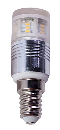 LAMPADINA LED 3,5W E14 240V AC ADATTA PER L'UTILIZZO IN APPARECCHI FRIGORIFERI 4200°K Neutra
