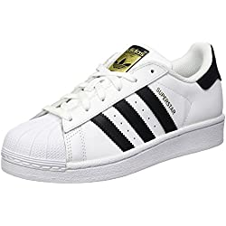 Adidas Originals Baskets Superstar Adicolor , Blanc (Footwear White/Core Black/Footwear White) 38 2/3