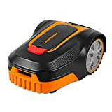 Lawnmaster L10 Robotic Lawnmower 20V Max Auto Charging Robot Mower with 2.0Ah Lithium-Ion Battery for Lawns up to 400m², 18cm Cut Width and 20-60mm Cutting Heights