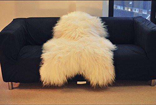 Biggest - Tappeto in pelle di pecora islandese Medium 110-120 cm