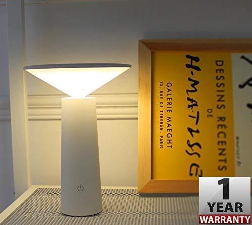 Smartway ® - Mini Desk Led Lamp,USB,Touch Sensor (Warm White+ Natural White+ White)