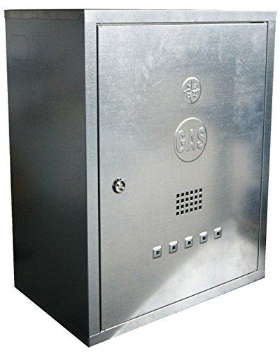 MISTERMOBY CASSETTA CONTATORE GAS / METANO ACCIAIO ZINCATO 60x50x25 CM +RESISTENTE, IL TOP