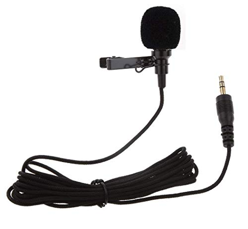 Fair Centre 3.5mm Clip Microphone For Youtube, Collar Mike For Voice Recording, Lapel Mic Mobile, Pc, Laptop, Android Smartphones, Dslr Camera