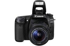 Canon 80D + EF-S 18-135mm IS USM Juego de cámara SLR 24.2MP CMOS 6000 x 4000Pixeles Negro - Cámara digital (24,2 MP, 6000 x 4000 Pixeles, CMOS, Full HD, Pantalla táctil, Negro)
