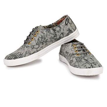 Red Rose Men's Grey Sneaker Shoes 7