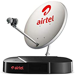 Airtel Digital TV HD Set Top Box with 1 Month Regional HD Pack