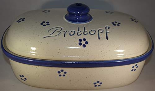 Brottopf Avena   Brotkasten   Brotbox   Brotdose   Brotbehälter   Steinzeug   LxBxH: 30x21x16 cm
