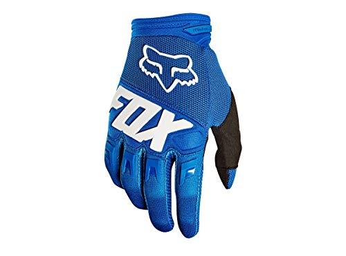 Fox Guanti Dirtpaw Blue, Taglia S