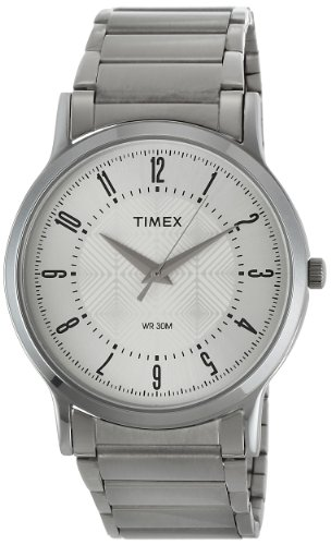 Timex Classics Analog Silver Dial Men's Watch - TI000R41400