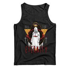 lepni.me Camisetas de Tirantes para Hombre Todo por la eternidad, Esqueleto,