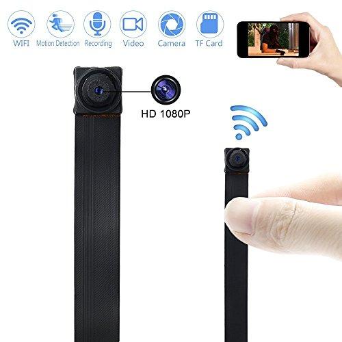 Telecamera Nascosta Spy Cam Mini Microcamera Spia WIFI TANGMI 1080P HD Wireless Rilevamento di...