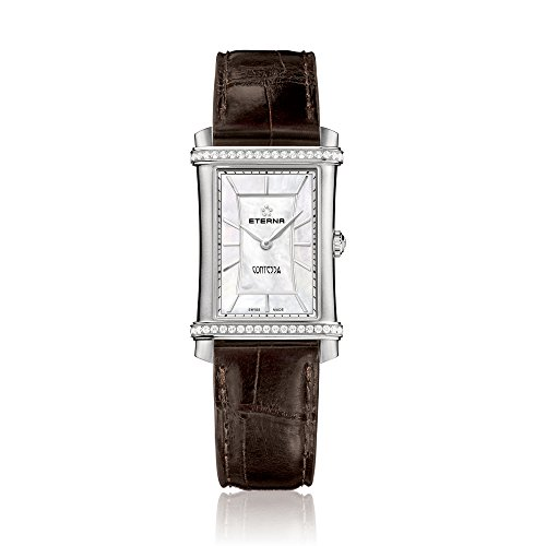 Eterna Damen - Armbanduhr Contessa Analog Quarz 2410.48.66.1199