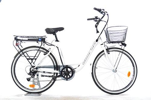 Cobran bike Bici elettrica a Litio New Easy (Bianco)