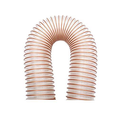 Tanstool - Manguera flexible de canalización de poliuretano ID 25 mm - 300 mm de grosor para la ventilación por extracción de vapores de polvo y residuos de madera