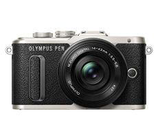 "Olympus PEN E-PL8 - Cámara EVIL de 16 MP (pantalla táctil abatible de 3"", estabilizador, vídeo FullHD, WiFi), negro - kit con cuerpo y objetivo M.Zuiko Digital 14 ‑ 42 mm EZ Pancake"