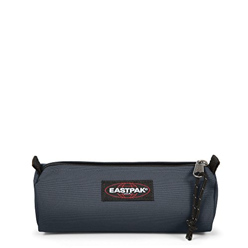 Eastpak Benchmark Single Astuccio, Blu (Midnight), nylon