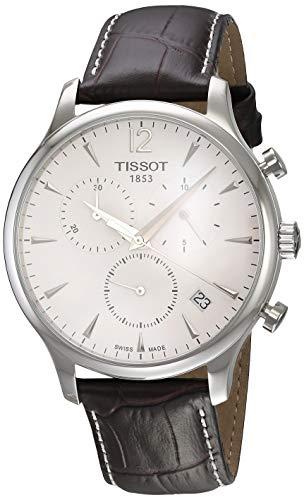 Tissot Orologio Cronografo Quarzo Uomo con Cinturino in Pelle T0636171603700