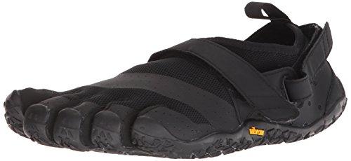 Vibram FiveFingers 18M7301 V-Aqua, Aqua Schuhe Herren, Schwarz (Black), 45 EU