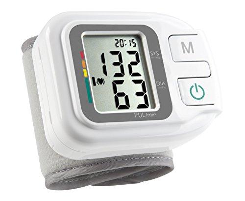 Medisana 51430 Sfigmomanometro da Polso, Indicatore aritmie, 60 spazi di memoria, Visualizza...