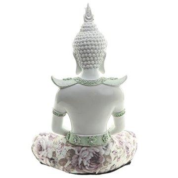 Decorativo floral iluminación-Figura decorativa de Buda, altura: 26cm, ancho: 18cm), profundidad 14cm 5