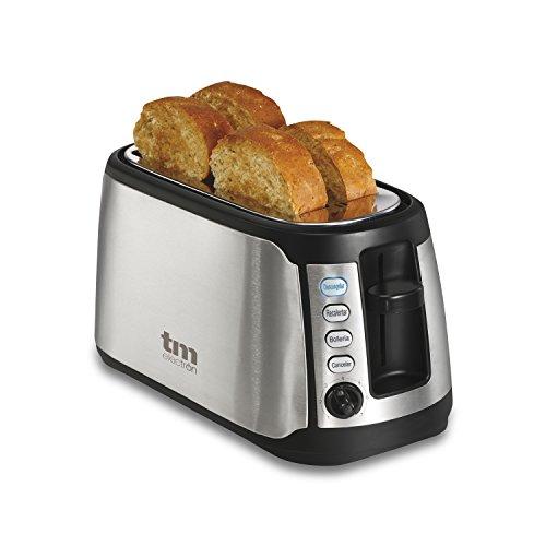TM Electron tmpts005Tostapane con 2fessure speciale di 38mm per pane e bollos Extra Lunghi e...