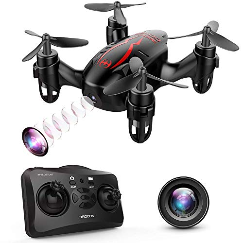 DROCON GD60 Mini Drone RC Quadricottero con videocamera HD 720P Video in Diretta, Modalit¨¤ Senza...