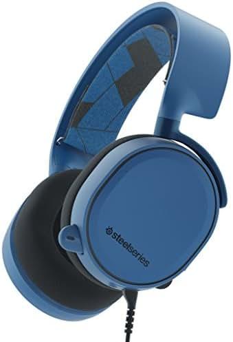SteelSeries Arctis 3, Gaming-Headset, Kompatibel mit allen Plattformen, PC / Mac / PlayStation 4 / Xbox One / Nintendo Switch / Android / iOS / VR, Farbe Boreal Blue