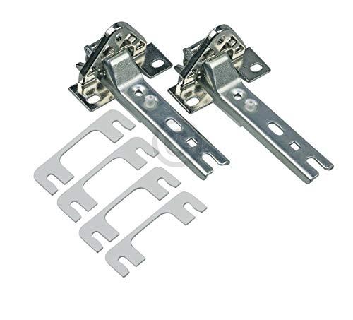 Set di cerniere per porta adatto per frigorifero/freezer come Bosch Siemens 268698-Whirlpool...