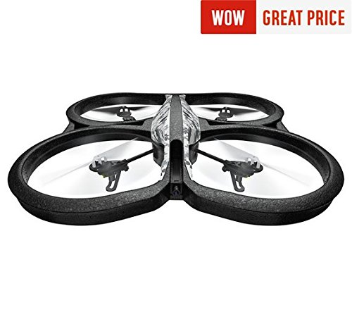 Parrot PATPF721009AA AR.Drone 2.0 Power Edition Snow - (Gadgets  Drones)