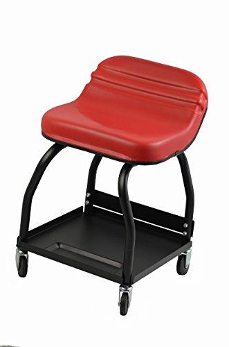 MaxxHaul 80747 High Rise Padded Roller Creeper Mechanic's Seat with 4 Swivel Castors - 300 lb. Capacity, 1 Pack