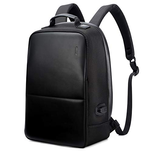 Bopai Business Backpack Invisible Anti Theft Backpack with USB Charging Port Travel Rucksack 15.6 in