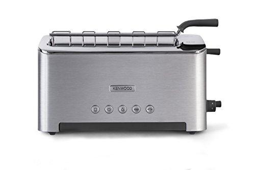 Kenwood Persona tostapane Cucina, 1080 W, Acciaio Inossidabile, 4 Scomparti, Argento