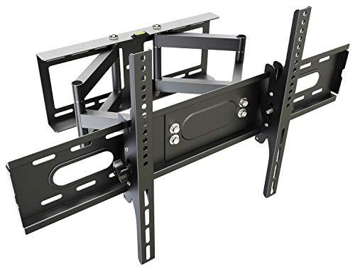 RICOO Supporto da parete per TV Montaggio R28-XL Staffa per televisore piatto inclinabile girevole...