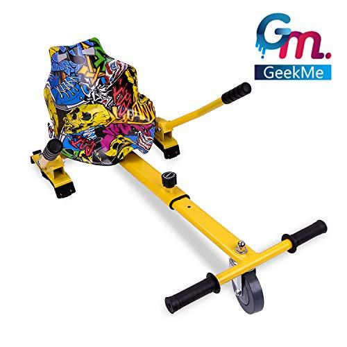 GeekMe Hoverkart per Hoverboard, Go-Kart Accessori di Scooter a bilanciamento Automatico, Lunghezza...