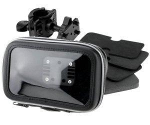 Wasserdicht GPS Navigation Tasche mit Halter passt für Motorrad und Farrad 4