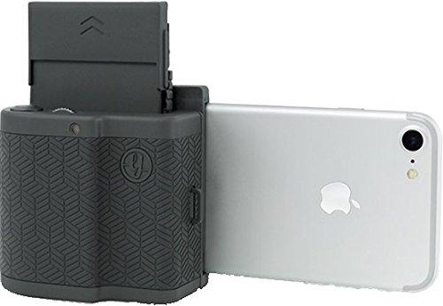 #Prynt Pocket antrazit grau, kompakter iPhone Fotodrucker, Sofortbildkamera#