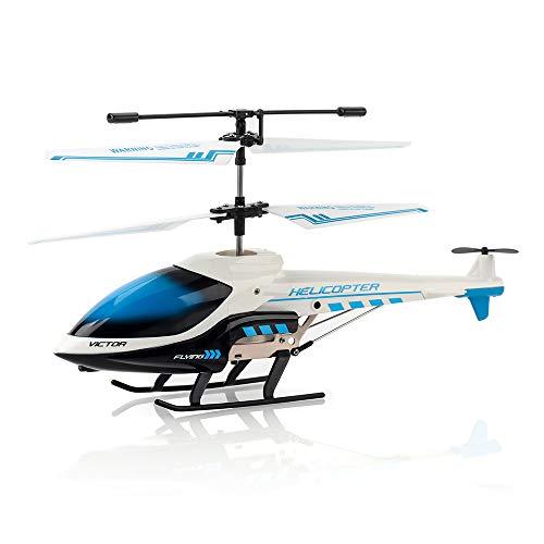 KOOWHEEL RC Hubschrauber, RC Helikopter mit LED-Licht, 3.5 Kanäle RC Flugzeug Spielzeug Geschenk für Kinder
